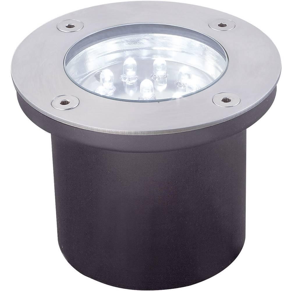Lampade da incasso per esterno a led kit da 3 3 6 w bianco for Lampade led incasso