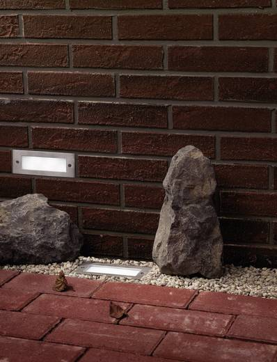 LED-Außeneinbauleuchte 1.2 W Neutral-Weiß Paulmann Wand 99816 Edelstahl