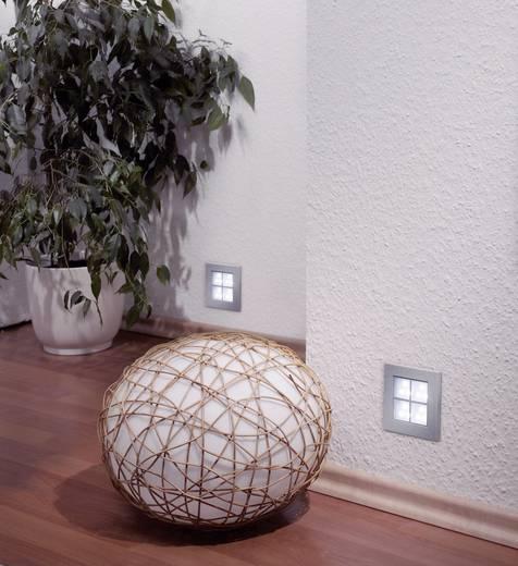 LED-Einbauleuchte 2 W Tageslicht-Weiß Paulmann Window 2 99498 Aluminium