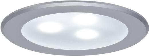 LED-Einbauleuchte 3er Set 9 W Neutral-Weiß Paulmann power 98351 Chrom (matt)