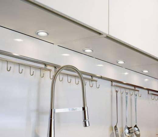 Paulmann Micro Line 99812 LED-Einbauleuchte 3er Set 3 W Warm-Weiß Eisen