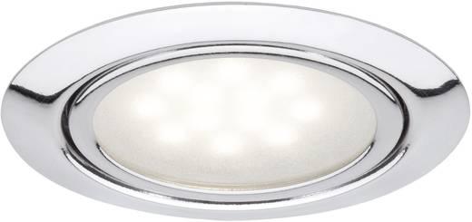 LED-Einbauleuchte 3er Set 3 W Warm-Weiß Paulmann Micro Line 99814 Chrom