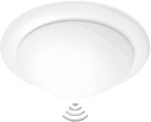Deckenleuchte mit Bewegungsmelder Energiesparlampe, Glühlampe, LED E27 75 W Steinel RS 10-3 731410 Weiß