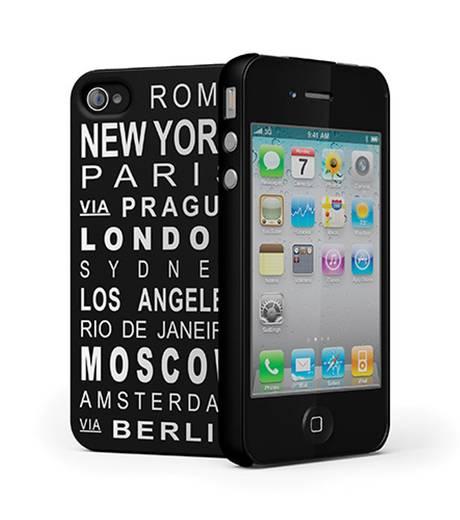 iPhone Backcover Cygnett Hard Case Nomad Passend für: Apple iPhone 4, Apple iPhone 4S, Schwarz