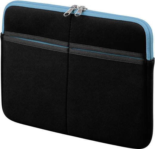"""Goobay Sleeve Tablet Tasche, universal Passend für Display-Größe (Bereich): 25,7 cm (10,1"""") Schwarz, Blau"""