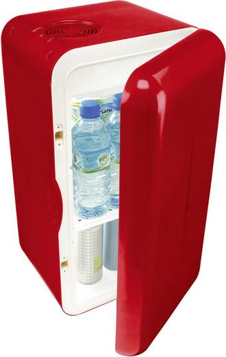 MobiCool F16 Minikühlschrank/Partykühler EEK=A++ (A+++ - D) Thermoelektrisch 230 V Rot 14 l