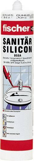 Fischer DSSA Sanitär-Silikon Farbe Weiß 053101 310 ml