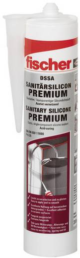 Fischer DSSA Sanitär-Silikon Farbe Dunkel-Grau 053105 310 ml