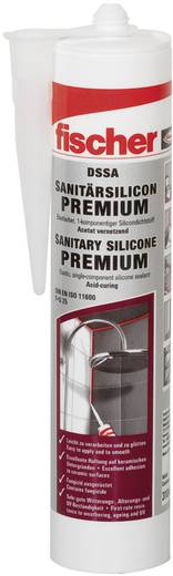 Fischer DSSA Sanitär-Silikon Farbe Sanitärgrau 512209 310 ml
