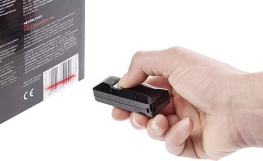 MT1097 USB-Kit Barcode-Scanner Bluetooth® 1D Linear Imager Schwarz Hand-Scanner Bluetooth®, USB