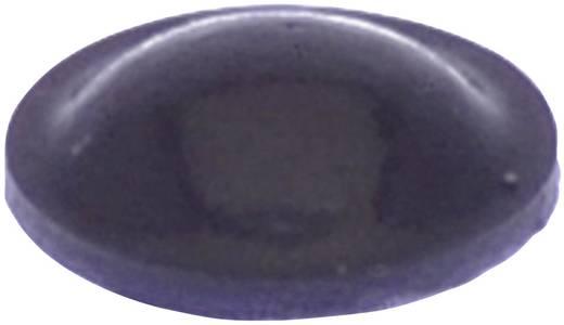 Gerätefuß selbstklebend, rund Schwarz (Ø x H) 8 mm x 2.2 mm TOOLCRAFT PD2008SW 1 St.
