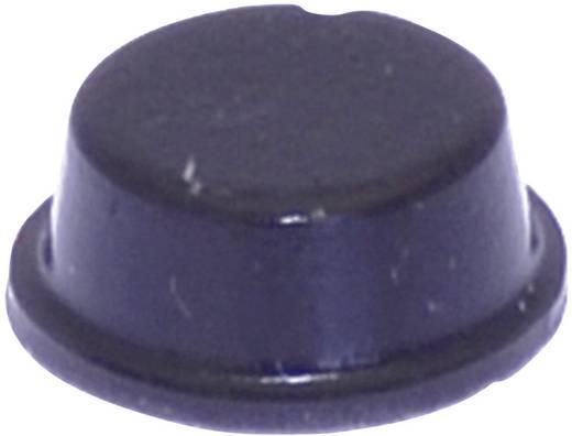 Gerätefuß selbstklebend, rund Schwarz (Ø x H) 10 mm x 4 mm TOOLCRAFT PD2104SW 1 St.