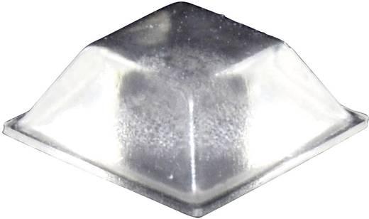 Gerätefuß selbstklebend, quadratisch Transparent (L x B x H) 20.5 x 20.5 x 7.5 mm TOOLCRAFT PD2205C 1 St.