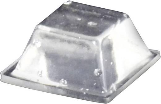Gerätefuß selbstklebend, quadratisch Transparent (L x B x H) 12.6 x 12.6 x 5.7 mm TOOLCRAFT PD2126C 1 St.