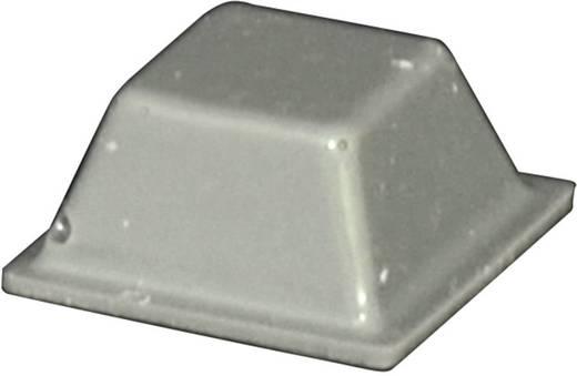 Gerätefuß selbstklebend, quadratisch Grau (L x B x H) 12.6 x 12.6 x 5.7 mm TOOLCRAFT PD2126G 1 St.