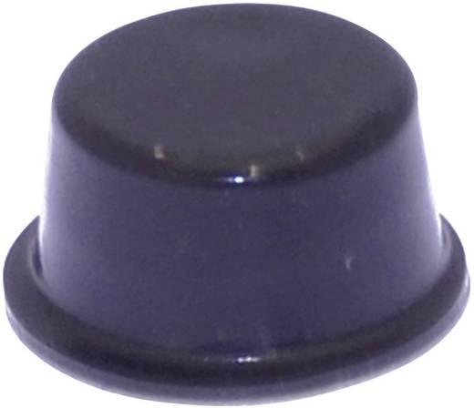 Gerätefuß selbstklebend, rund Schwarz (Ø x H) 12.7 mm x 6.2 mm TOOLCRAFT PD2128SW 1 St.