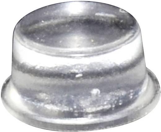 Gerätefuß selbstklebend, rund Transparent (Ø x H) 12.7 mm x 6.2 mm TOOLCRAFT PD2128C 1 St.