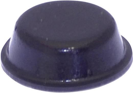 Gerätefuß selbstklebend, rund Schwarz (Ø x H) 14 mm x 4.5 mm TOOLCRAFT PD2014SW 1 St.