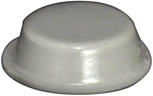 Gerätefuß selbstklebend, rund Grau (Ø x H) 14 mm x 4.5 mm TOOLCRAFT PD2014G 1 St.