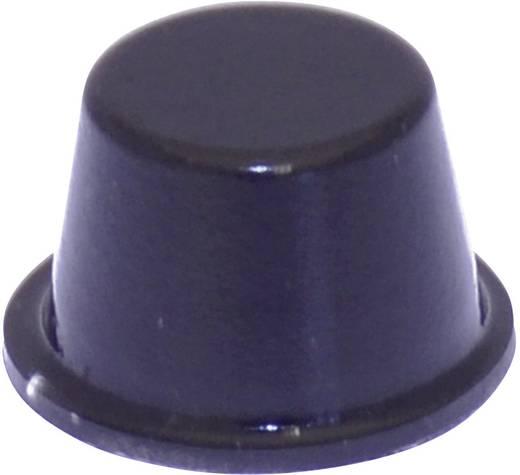 Gerätefuß selbstklebend, rund Schwarz (Ø x H) 16.5 mm x 10.2 mm TOOLCRAFT PD2164SW 1 St.