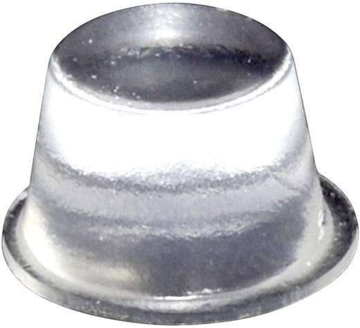 Gerätefuß selbstklebend, rund Transparent (Ø x H) 16.5 mm x 10.2 mm TOOLCRAFT PD2164C 1 St.
