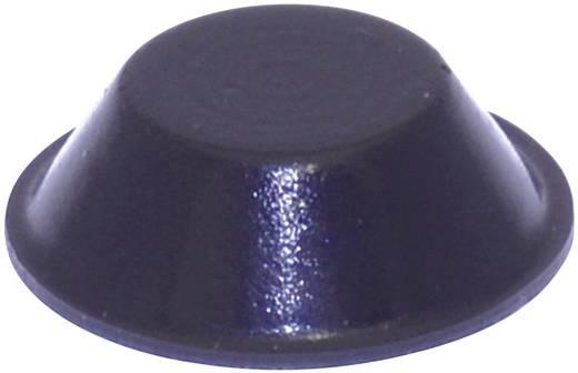 Gerätefuß selbstklebend, rund Schwarz (Ø x H) 19 mm x 6 mm TOOLCRAFT PD2019SW 1 St.