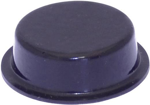 Gerätefuß selbstklebend, rund Schwarz (Ø x H) 20 mm x 6.2 mm TOOLCRAFT PD2020SW 1 St.