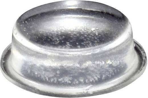 Gerätefuß selbstklebend, rund Transparent (Ø x H) 20 mm x 6.2 mm TOOLCRAFT PD2020C 1 St.
