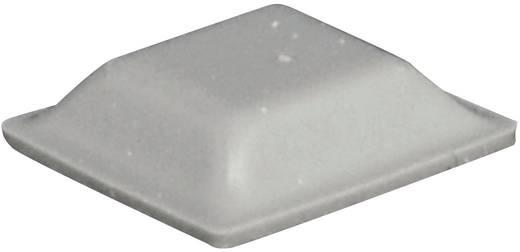 Gerätefuß selbstklebend, quadratisch Grau (L x B x H) 12.7 x 12.7 x 3.1 mm TOOLCRAFT PD2127G 1 St.