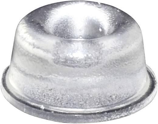 Gerätefuß selbstklebend, rund Transparent (Ø x H) 22.3 mm x 10.1 mm TOOLCRAFT PD2210C 1 St.