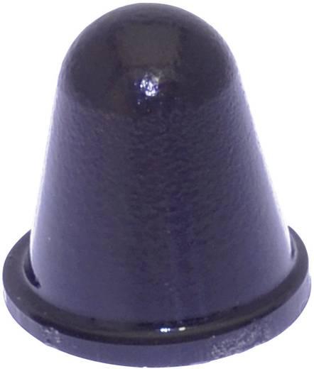 Gerätefuß selbstklebend, rund Schwarz (Ø x H) 16.6 mm x 16.6 mm TOOLCRAFT PD3216SW 1 St.