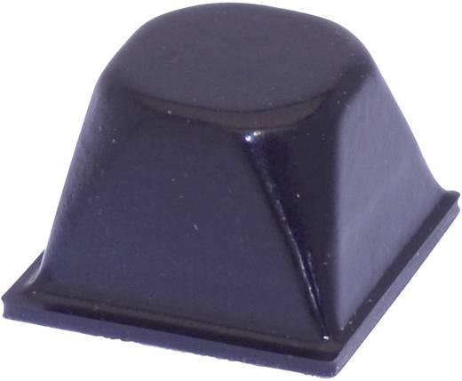 Gerätefuß selbstklebend, rund Schwarz (Ø x H) 20.5 mm x 13.2 mm TOOLCRAFT PD3206SW 1 St.