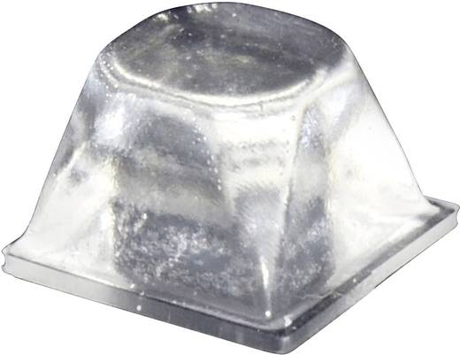 Gerätefuß selbstklebend, rund Transparent (Ø x H) 20.5 mm x 13.2 mm TOOLCRAFT PD3206C 1 St.