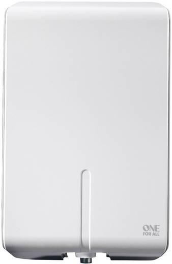 Aktive DVB-T/T2 Flachantenne One For All SV 9455 Außenbereich Verstärkung=50 dB Weiß