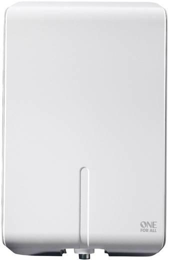 One For All SV 9455 Aktive DVB-T/T2 Flachantenne Außenbereich Verstärkung=50 dB Weiß