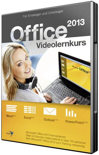 software office 2013 videolernkurs kaufen. Black Bedroom Furniture Sets. Home Design Ideas