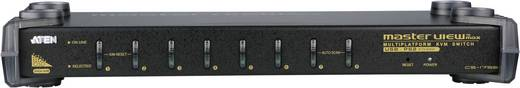 8 Port KVM-Umschalter VGA USB, PS/2 2048 x 1536 Pixel CS1758Q9-AT-G ATEN