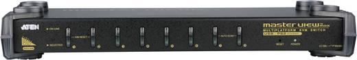 8 Port KVM-Umschalter VGA USB, PS/2 2048 x 1536 Pixel CS1758Q9-AT-G ATEN