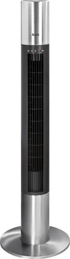 Turmventilator AEG T-VL 5537 40 W (Ø x H) 32 cm x 120 cm Schwarz, Edelstahl