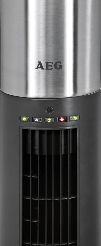 Ventilatore a torre AEG T-VL 5537 40 W (Ø x A) 32 cm x 120 cm Nero, Acciaio