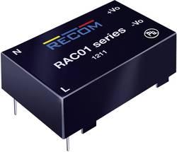 Síťový zdroj do DPS Recom International RAC01-3.3SC, 3,3 V/DC, 0,3 A, 1 W