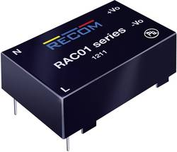 Síťový zdroj do DPS Recom International RAC02-12SC, 12 V/DC, 0,167 A, 2 W