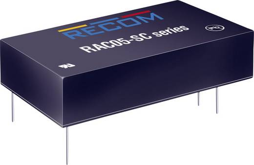 AC/DC-Printnetzteil RECOM RAC05-05SC 5 V/DC 1 A 5 W