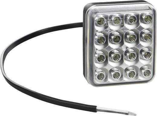 Hochleistungs-LEDs Nebelschlussleuchte Nebelschlussleuchte hinten 12 V, 24 V, 36 V Rot SecoRüt Klarglas