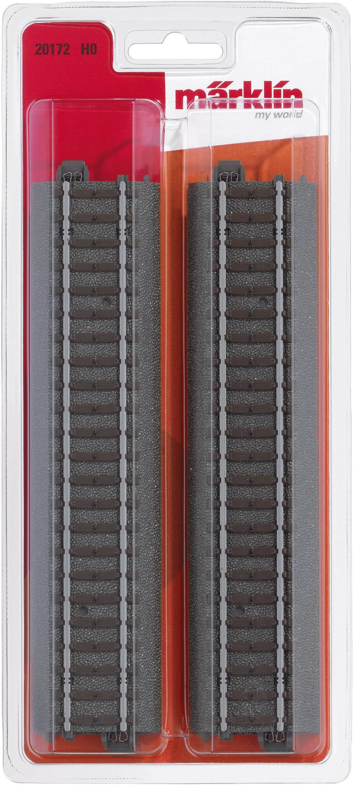 24902 Ergänzungs-Set C2 mit Bettung H0 Märklin C-Gleis