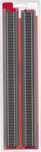 H0 Märklin C-Gleis (mit Bettung) 20360 Gerades Gleis 360 mm