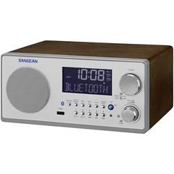 FM stolové rádio Sangean SANGEAN WR-22 AUX, Bluetooth, vlašský orech