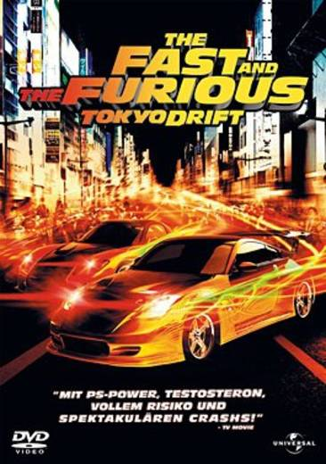 DVD The Fast and the Furious: Tokyo Drift FSK: 12