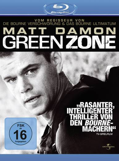 blu-ray Green Zone FSK: 16