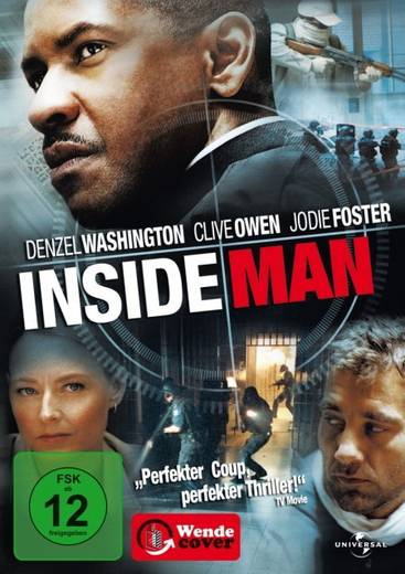 DVD Inside Man FSK: 12